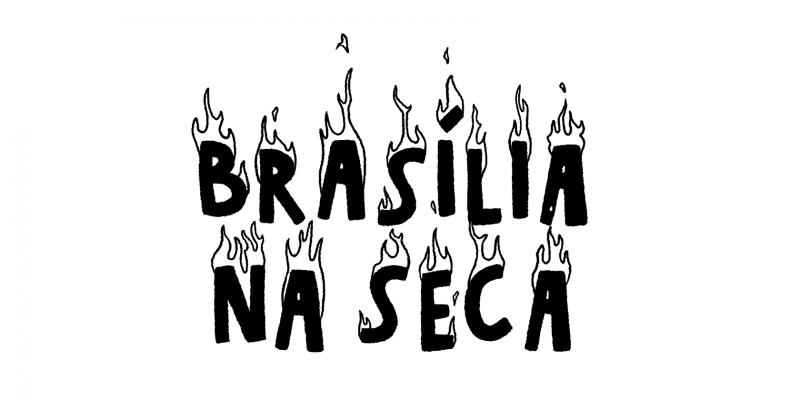 Banner da série animada Brasília na Seca
