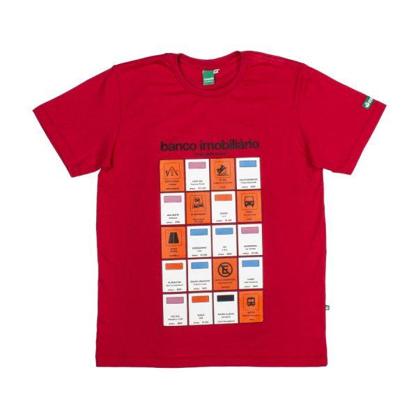 Camiseta Banco Imobiliário