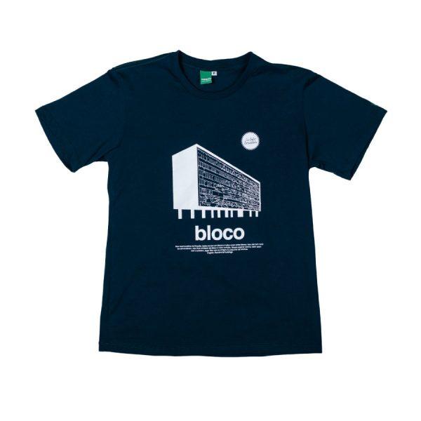 camiseta bloco