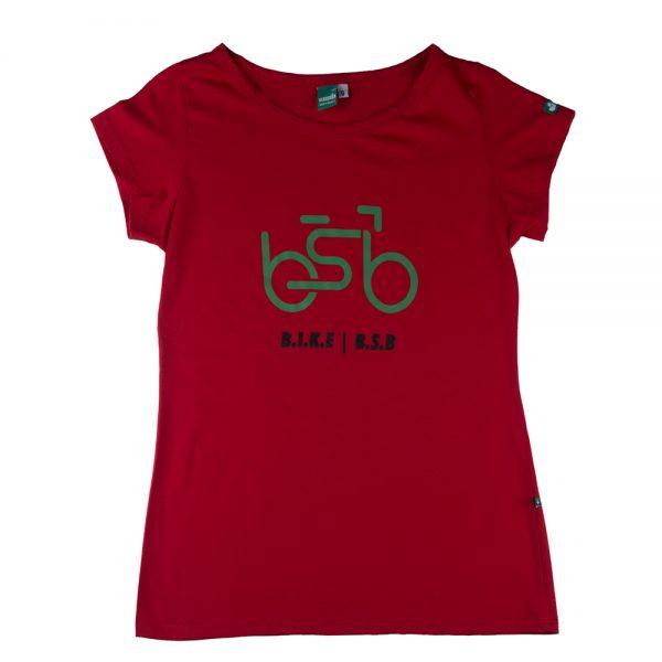 bsb bike vermelha